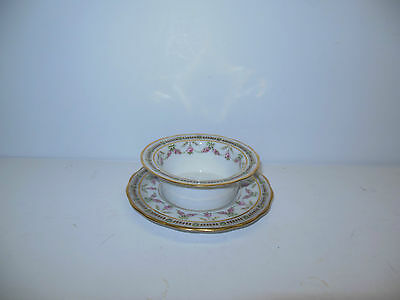 4 SETS B&C LIMOGES ORNATE RAMEKINS W UNDERPLATES               re4-636