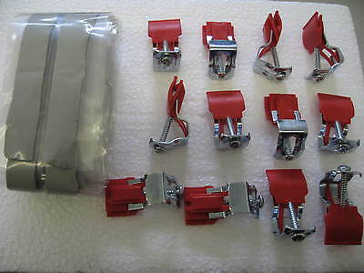 Franke AH304599 Fitting Set with AH303175 Clips For a Two Bowl Kitchen Sink