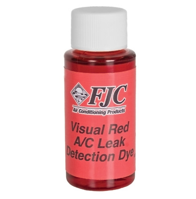 FJC Products R134A R12 Visual Red Leak Detection Dye 4933