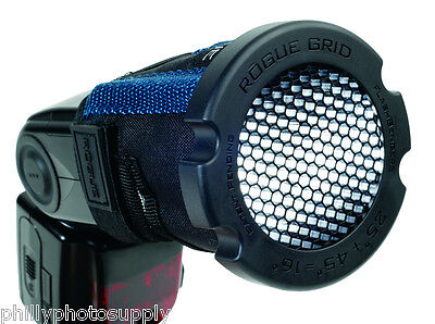 Rogue 3 in 1 Honeycomb Grid & Color Gel Filter Set for Shoe Mounted Spot Flash