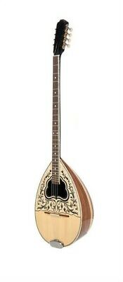 MATSIKAS 8-STRING BOUZOUKI w/ SOFT CASE, SOLID SPRUCE TOP, WALNUT & MAPLE GREEK