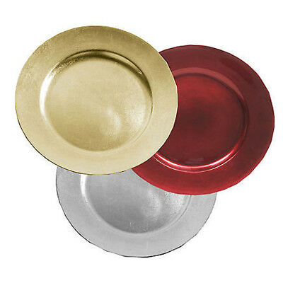 Large Coupe De Radiance Charger Hot Plates Dinner Under Table Place Mats Xmas