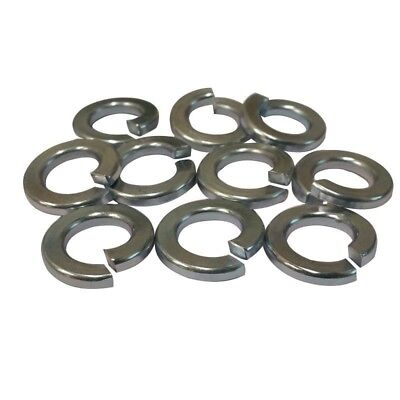 "Split Ring Lock Washer 5/16"" ,  (Qty: 250)  Steel / Zinc Plated"