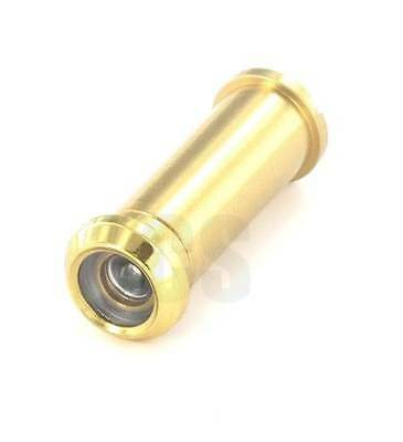 Securit S1650 Door Viewer Spy Hole 160 Degrees Brass