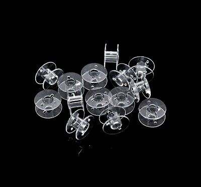 20mm Clear Acrylic Universal Sewing Machine Bobbins Bobbin Spool Domestic ML