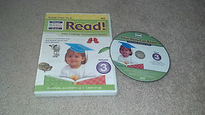 Your Baby Can Read! Volume 3 DVD Developing Minds Dr Robert Titzer Short Phrases