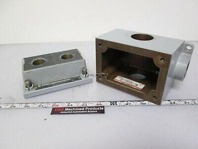 ALLEN BRADLEY 800H-NP31 Series X Explosion Proof Enclosure With (2