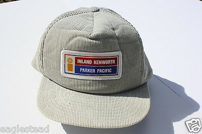 Ball Cap Hat - Inland Kenworth - Parker Pacific - Truck Tractor BC (H886)