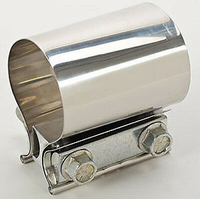 """Walker 35978 Band Style Strap Exhaust Clamp 3"""" Stainless Steel Butt Joint"""
