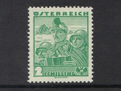 STAMPS   from  AUSTRIA  1935 COSTUMS  2 s  (MINT/MLH)  lot 207