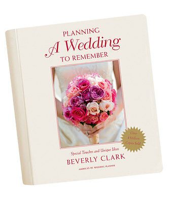 Planning a Wedding To Remember Beverly Clark Wedding Planner Book