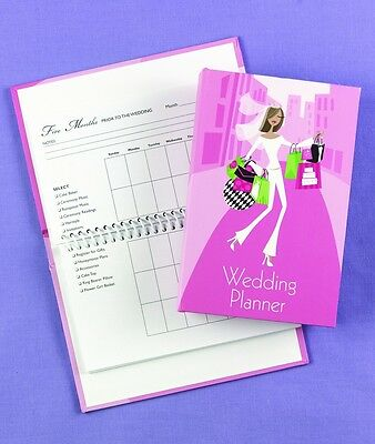 Pink Pocket Size Wedding Planner Planning Book
