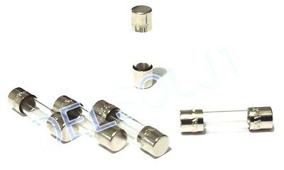 LOT OF 5 GMA-3.15A BUSS BUSSMANN FUSES 3.15A 125V 5mm x 20mm FAST BLOW