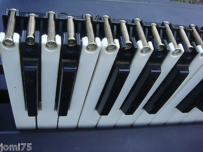 Touche Clavier Roland Remplacement Key+sping  E-14 EM serie Korg  more Original