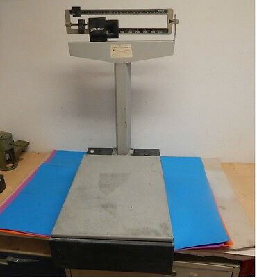 Detecto 4420 Mechanical Receiving Beam Type Bench Scale 350lbs Max