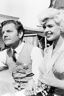 The Sheriff Of Fractured Jaw Kenneth More Jayne Mansfield 24X36 Poster Print