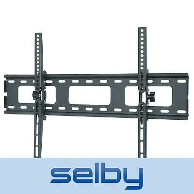 "32-52"" inch LCD LED Plasma TV Slimline Tilt Wall Mount Bracket Black"