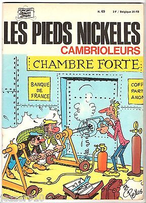 LES PIEDS NICKELES n°69 ¤ CAMBRIOLEURS ¤ EO 1971