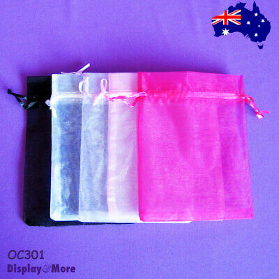 200 Organza Jewellery Gift Pouch Bags-12x16cm-Super Deal | AUSSIE Seller