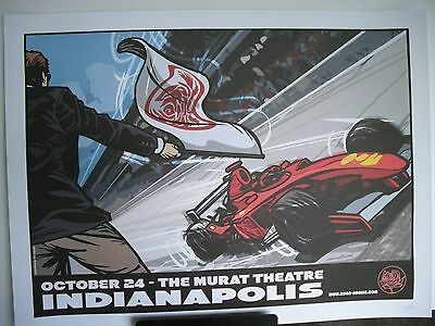 2007 Ryan Adams Murat Theatre Indianapolis 500 Tour Concert Poster October 24