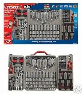 New Lot Of (2) Crescent Ctk148Mp Tool Sets-148 Pc Tool Sets And Case Sale