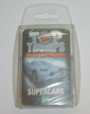 Top Trumps Cards - Supercars
