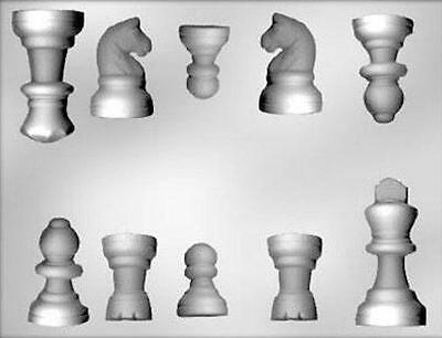 Chess Pieces Chocolate Candy Mold from CK #13453 - NEW