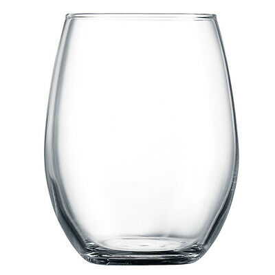 Primary Hiball Tumblers 270ml - Set of 6 | Toughened Stemless Wine Glasses