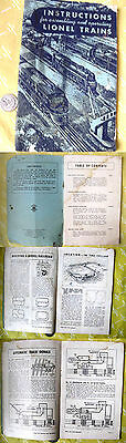 Instructions For Assembling & Operating Lionel Trains, 1949
