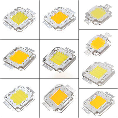 10W/20W/30W/50W/100W High Power Pure Warm White LED FloodLight Chip Lamp Bulb