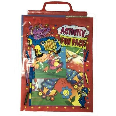 Activity Fun Pack Includes Set Of Four Varied Magic Painting Books In Carry Bag