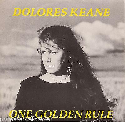 "DOLORES KEANE - One Golden Rule (UK 2 Tk 1990 7"" Single PS)"