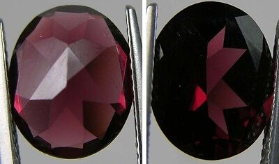 4.75ct or .95g Tanzania 100% Natural Rhodolite Garnet Clean Oval Cut Gemstone