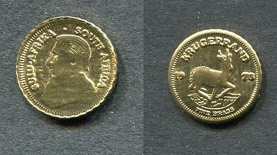 Superbe Piece Or Sud Afrique    Gold Coin