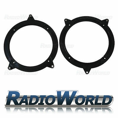 BMW e46 3 Series Front & Rear Door Speaker Adapters Rings Spacers 130mm 5.25""