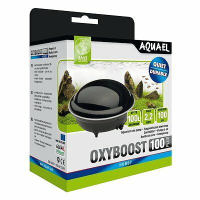 Aquael Pompe a air OXYBOOST AP 100 Plus - membrane à Aérien Aquariums