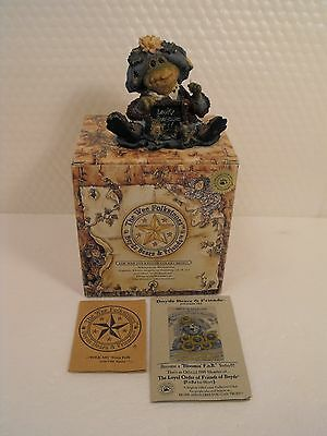 Boyds Bears Wee Folkstones Ribbit & Co Ms. Lilypond . Lesson Number One  # 36705