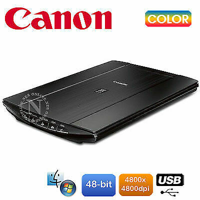 CANON LiDE 210/LIDE220 DOCUMENT & PHOTO Compact Desktop Color SCANNER USB PC MAC