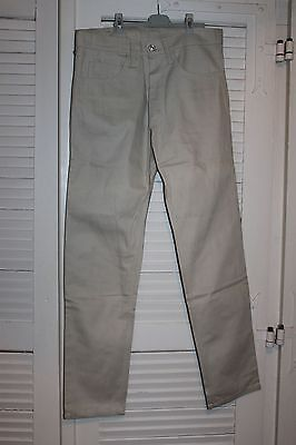 Vintage et neuf Jeans RICA LEWIS - Taille 38 - Beige