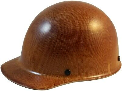 MSA Skullgard Cap Style Hard Hat With Ratchet Suspension, Natural Tan Color