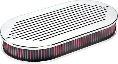 Large Oval Economy Ball Milled Air Cleaner Specialty Products 8406