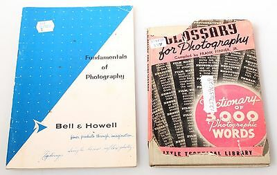 FUNDAMENTALS OF PHOTOGRAPHY   GLOSSARY FOR PHOTOGRAPHY BOOKS