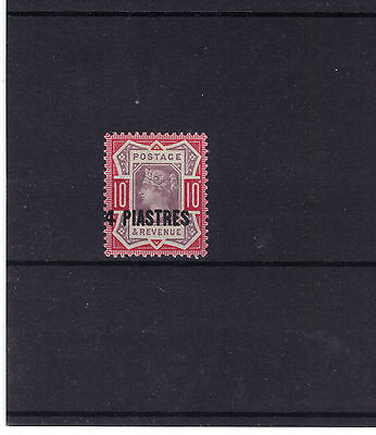British LEVANT 1887-96 VICTORIAN 10d GB Stamp O/P SG.6 or 6a REF:Y600