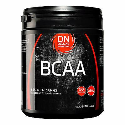 Deluxe Nutrition BCAA Branched Chain Amino Acids Powder 250g, 500g, 1kg