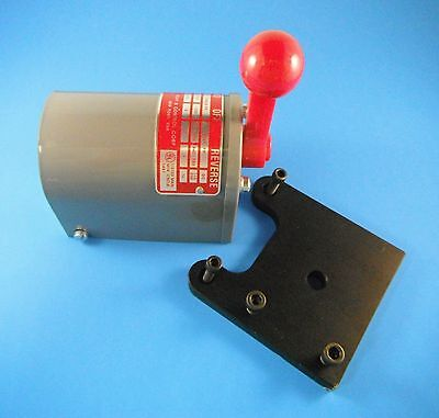 Bridgeport step pulley mill DRUM SWITCH with MOUNTING PLATE M1466-STEP NEW!!