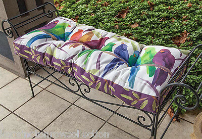 Sensational Outdoor Cushions Birds Of A Feather Garden Bench Cushion Ncnpc Chair Design For Home Ncnpcorg
