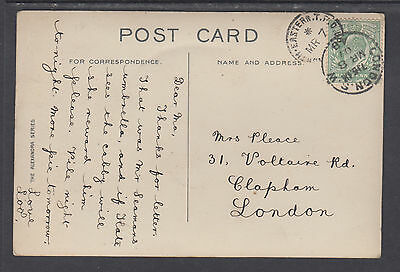 """Great Britain Sc 143 on 1948 color PPC """"The Cliffs, Tynemouth"""""""