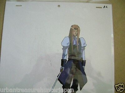 The Vision Of Escaflowne Allen Schezar Anime Production Cel