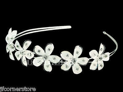 Gorgeous Crystal Design Tiara/Headband- Brand New T5