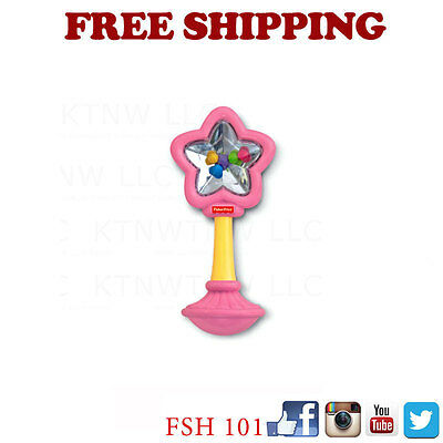 Brand New Fairy Wand  Rattle Fun Baby Toy 3 Month & Up